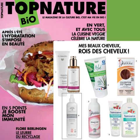 Druide Bio dans le magasine Top Nature