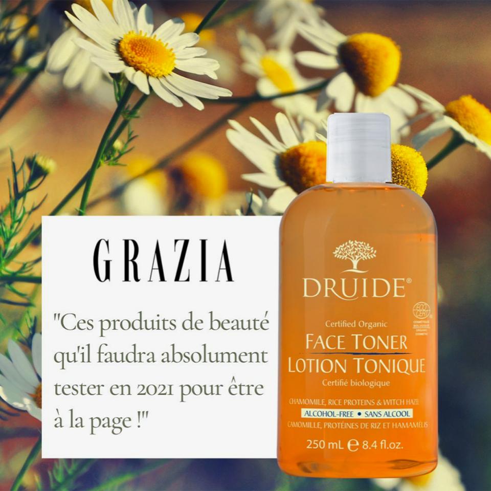Druide Bio dans le magasine Grazia